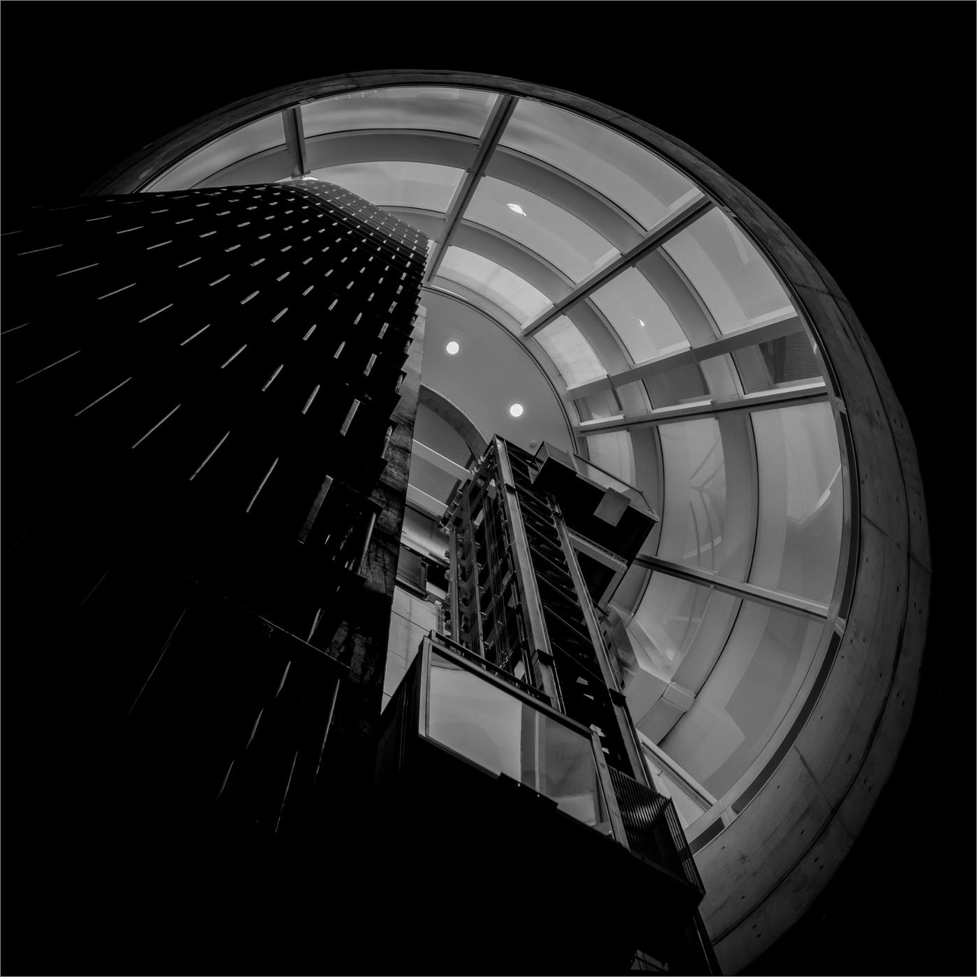 Arp Museum | Aufzug #1  | © wolfgang röser | worobo