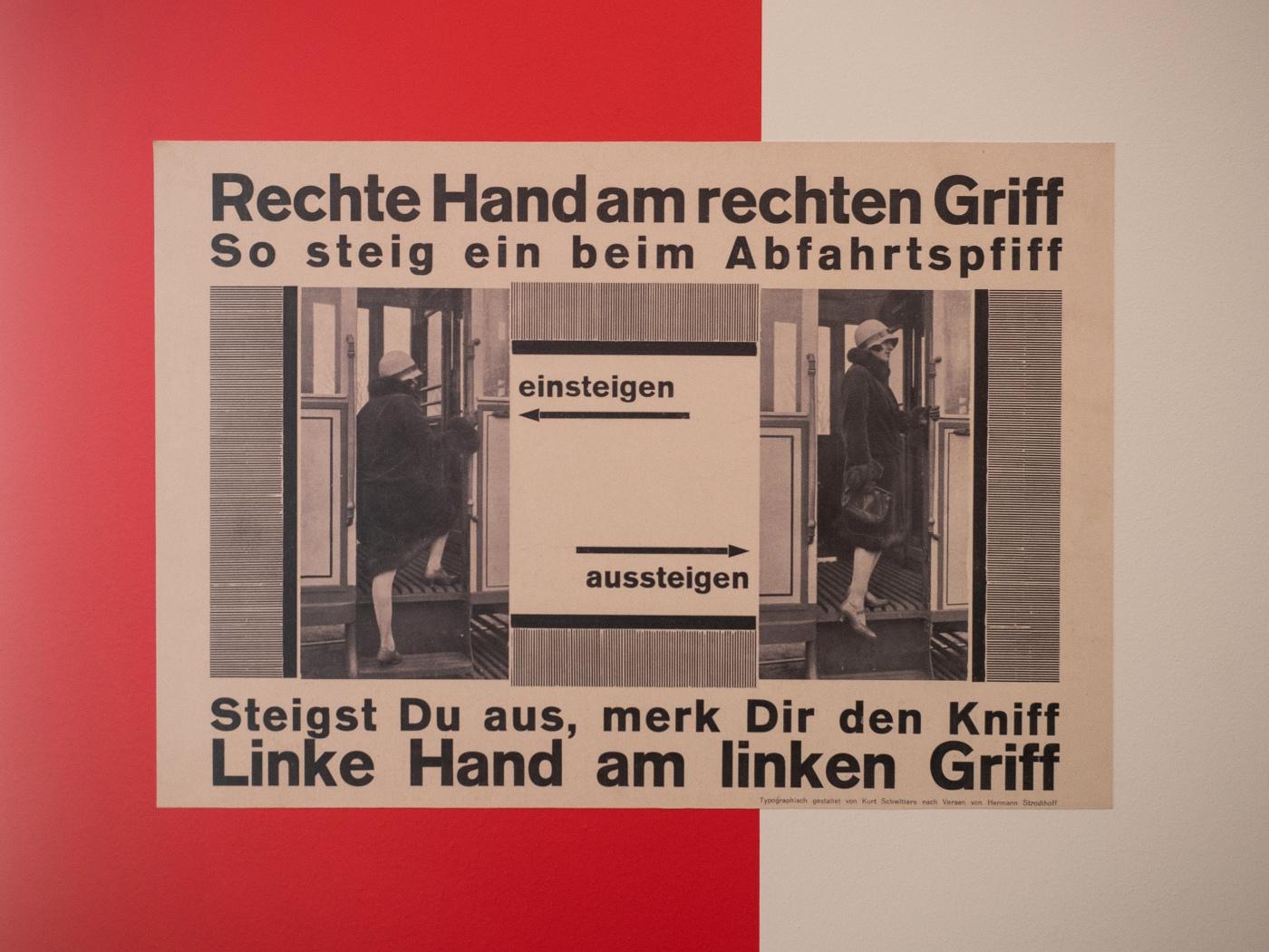 Kurt Schwitters nach Versen von Hermann Stodthoff  | © wolfgang röser | worobo