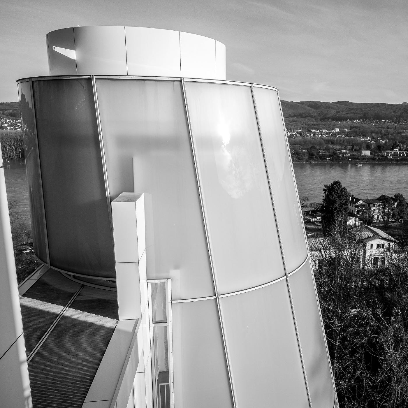 Arp Museum | Aufzugsturm  | © wolfgang röser | worobo