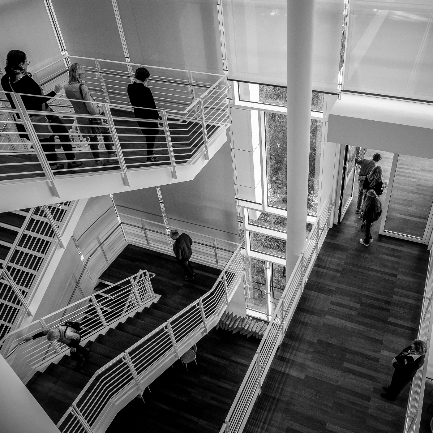 Arp Museum | Trepp auf, Trepp ab  | © wolfgang röser | worobo