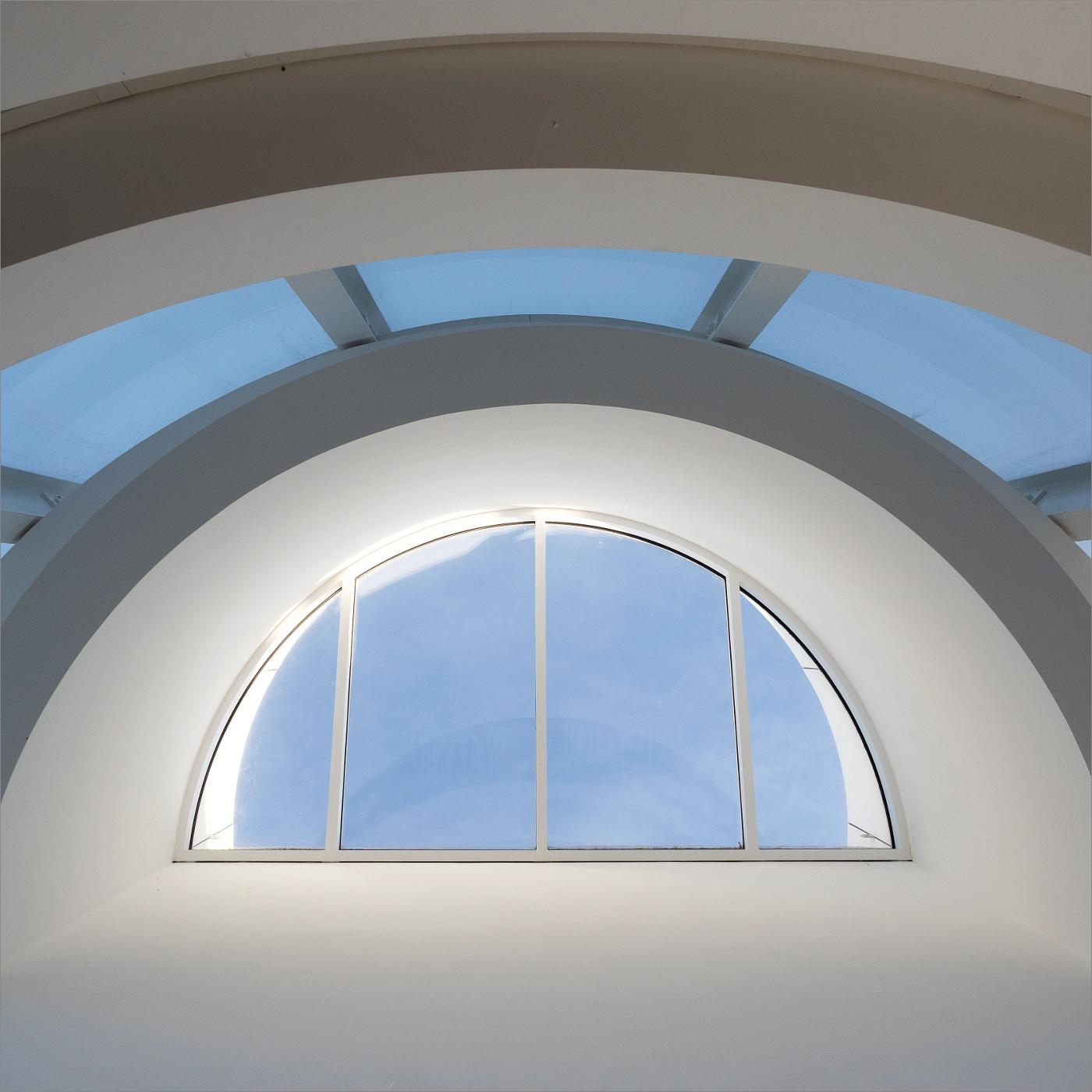 Arp Museum | Blick nach oben | © wolfgang röser | worobo