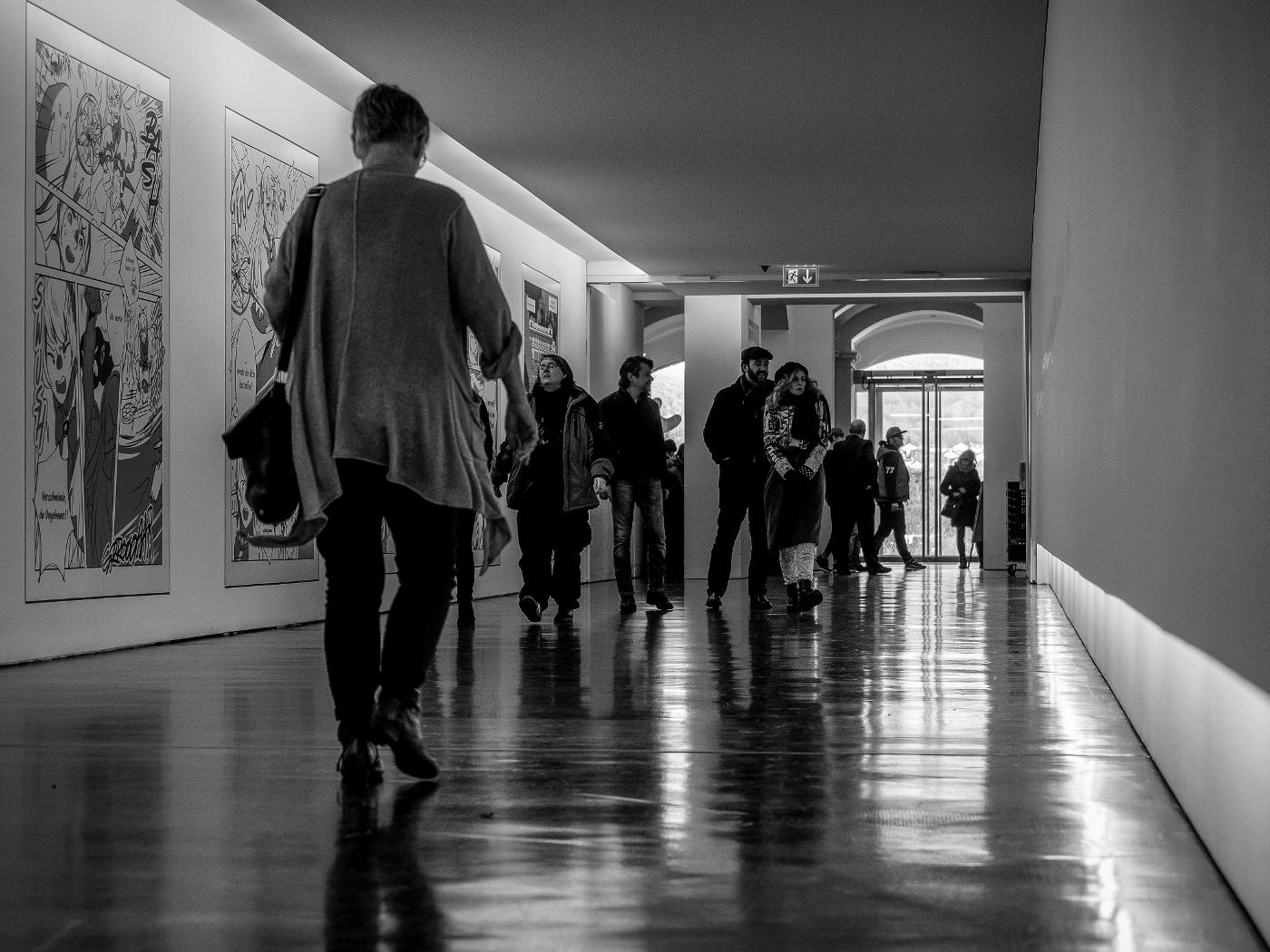 Arp Museum | Tunnel unter der Bahn | © wolfgang röser | worobo