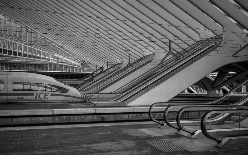 Bahnhof Liège-Guillemins #01 | © Wolfgang Röser