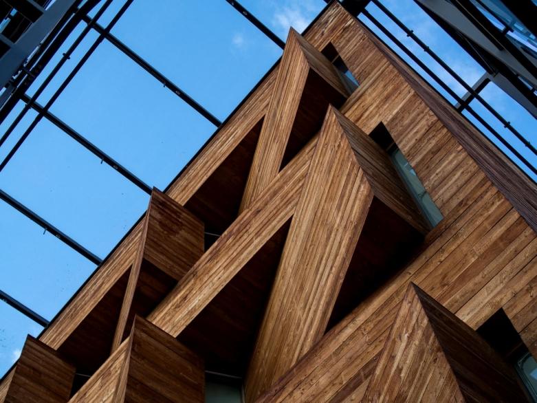 LVR-LandesMuseum Bonn, Detail Fassade #1 | © wolfgang röser | worobo