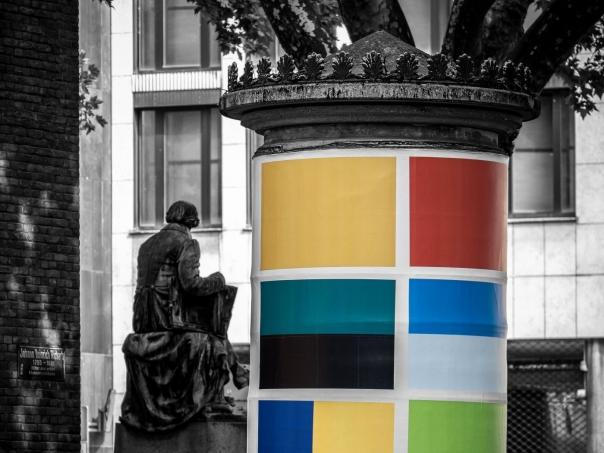 Monochrom trifft Farbe | © wolfgang röser | worobo
