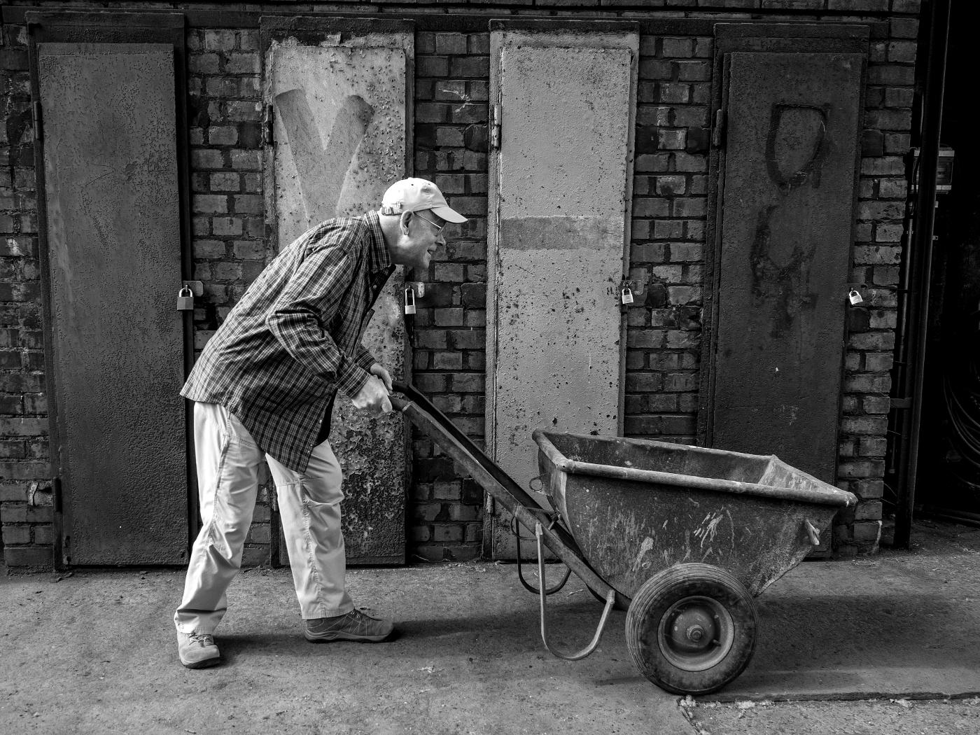 Zeche Zollverein, Man at work | © wolfgang röser | worobo