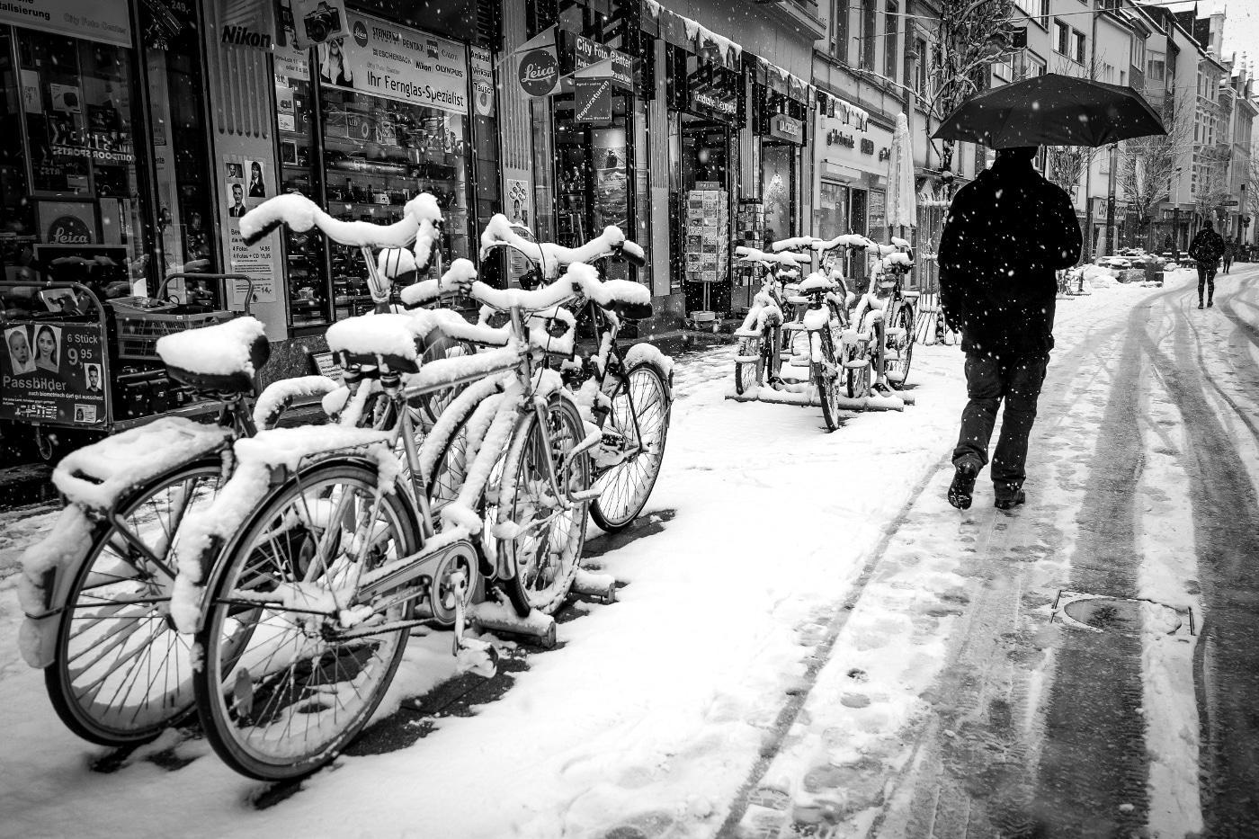 Der erste Schnee - Bonn | © wolfgang röser | worobo