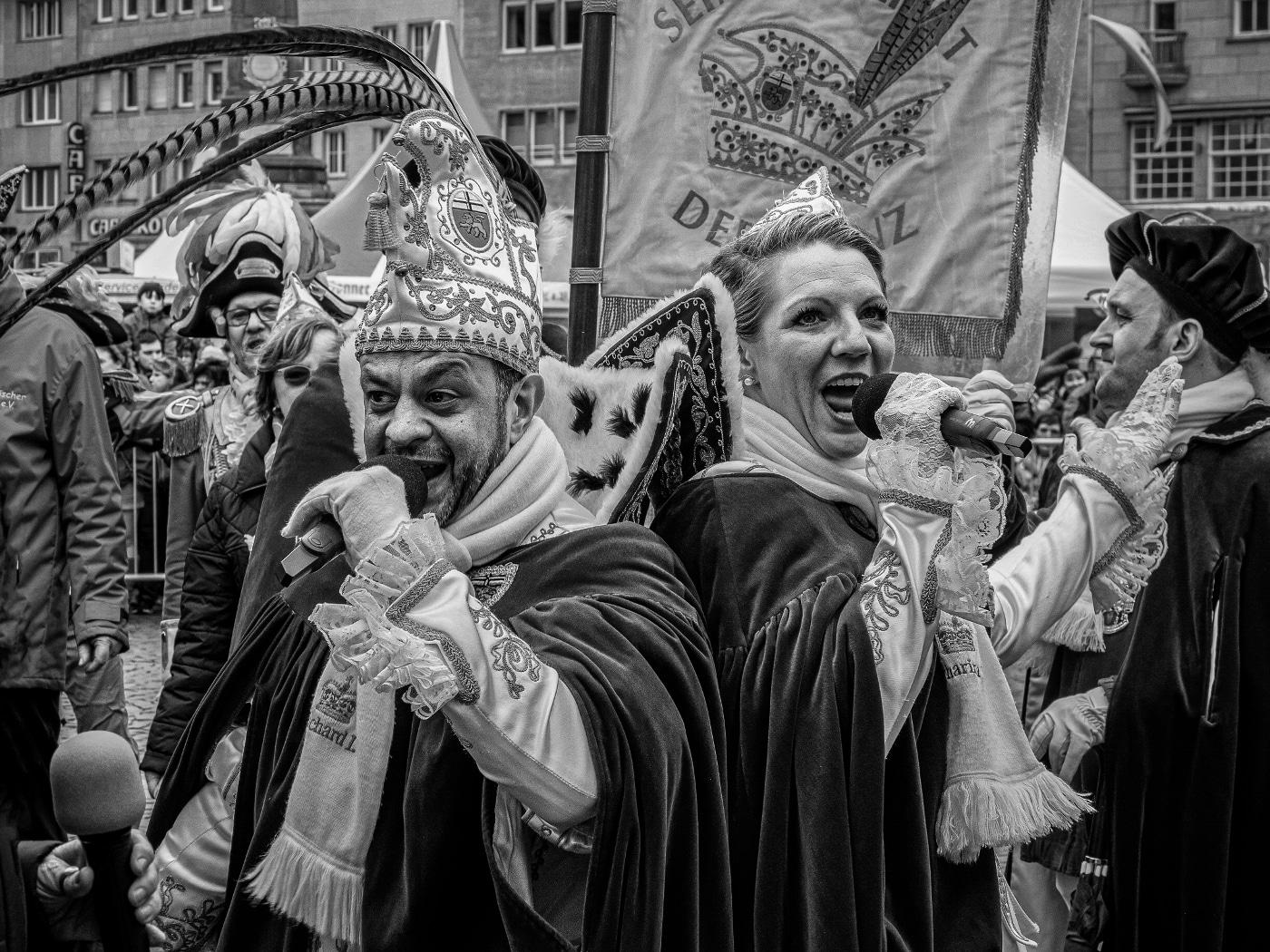 Prinz Richard I. und Bonna Katharina III. | © wolfgang röser | worobo